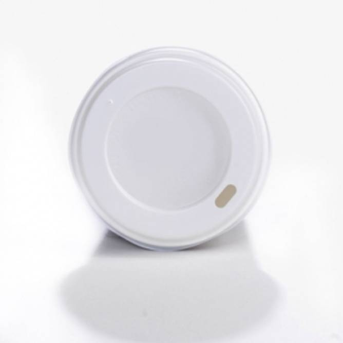 Bilde av Lokk til pappbeger, 250 ml.